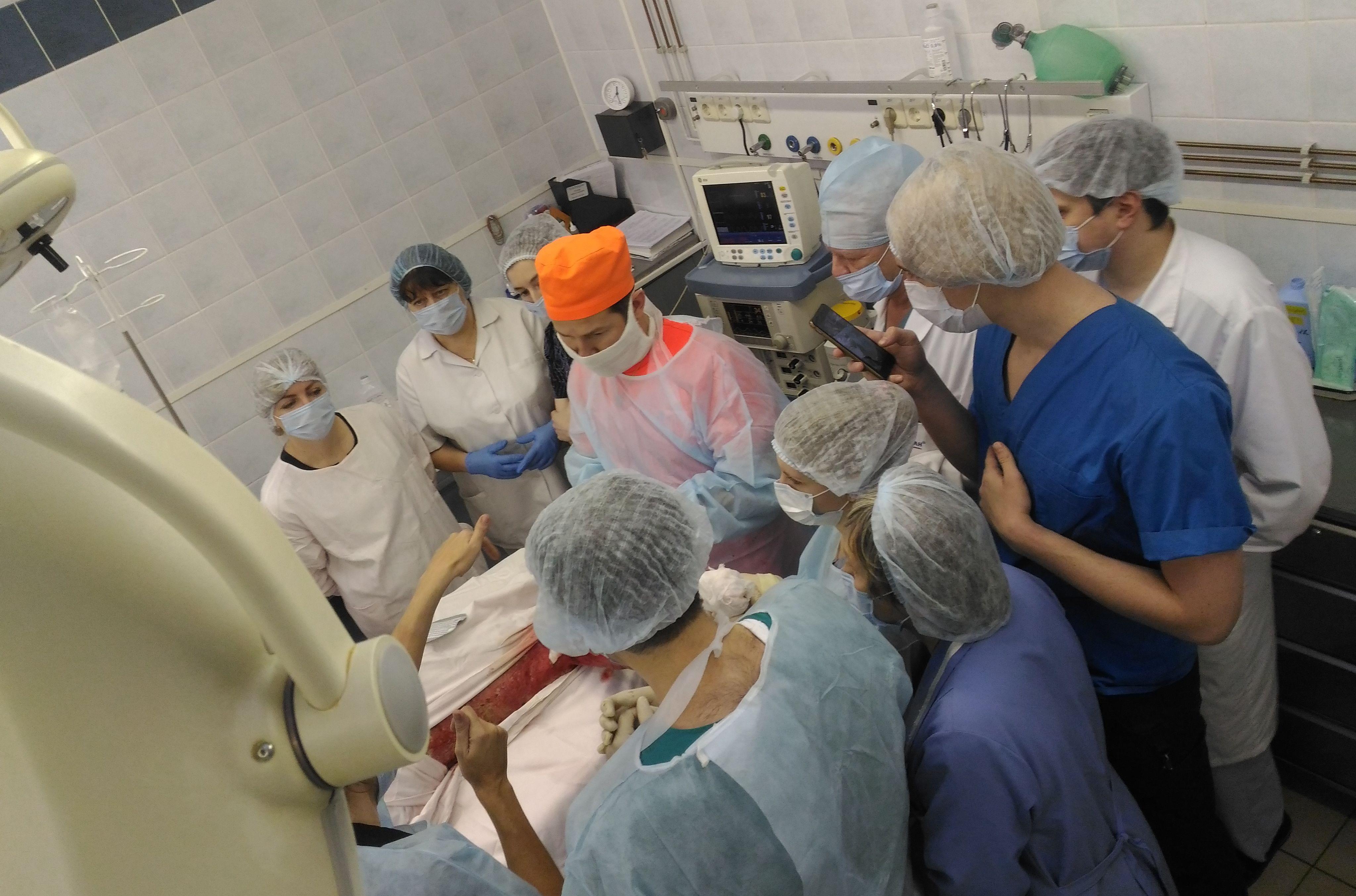 Операция по пересадке кожи по специальной методике МЕЕК